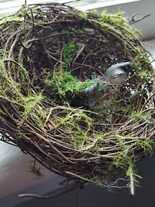 Sneaky Custom Bird's Nest Cache for Geocaching comes with a Log Book