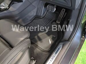 New Genuine BMW 1 Series F40 Front All Weather Floor Mats Rubber Set 51472469122