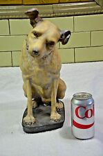 "Vintage Victor Ceramic RCA Nipper Dog Heavy 15"" Tall VERY OLD LOOK (037)"