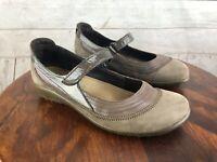 """NAOT Women's """"Kerei"""" Mary Jane Leather Shoes Size 39 EU 8 US Metallic Brown"""