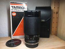 Tamron SP 35-210mm F/3.5-4.2 Pentax-K Adaptall-Mount mit OVP