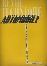 (C2)REVUE TECHNIQUE AUTOMOBILE SIMCA - FIAT 6CV / Moteur Diesel CUMMINS