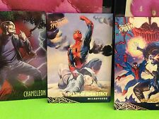 Vintage 1995 Fleer Ultra Spider-Man Trading Cards 19 Cards Collectible Gift