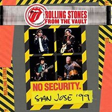 ROLLING STONES CD - FROM THE VAULT: NO SECURITY. SAN JOSE '99 [2CD/1DVD] - NEW