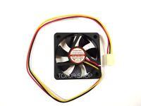 EVERCOOL EC5015SL12BA Two ball bearing cooling fan DC12V 0.07A 50*15mm 3wire