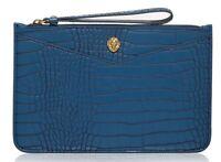 FRANCES by ANNE KLEIN Blue Wristlet Clutch Bag - Brand New