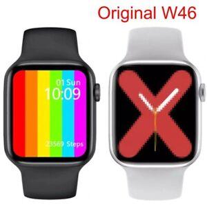 Iwo 12 W46 Men Women Bluetooth Smart Watch Wireless Charge Ecg Pedometer Relogio