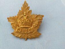 Canadian General List cap badge.6.