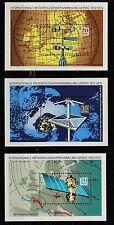 DDR 1972 MiNr: 1745-1747 Block 34-36 postfrisch 100Jahre Meterologenversammlung