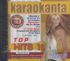 Paty Cantu Gloria Trevi Reik Kalimba Top Hits 18 Karaokanta Karaoke New Sealed