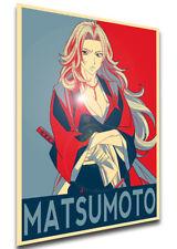Poster Propaganda - Bleach - Rangiku Matsumoto - LL0393