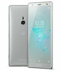 """Sony Xperia XZ2 64GB Sbloccato ** ** 5.7"""" pollici LIQUIDO Argento HD Smartphone buona condizione +"""