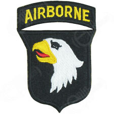 101st Airborne - Screaming Eagles Ww2 Repro Badge Patch Sleeve Shoulder Arm
