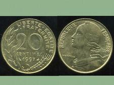 20 CENTIMES marianne   1997   ( bis )