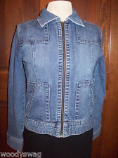 Banana Republic Jeans Denim Jacket Fitted gypsy rock Small Blues S