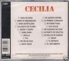 Ultra rare CD CECILIA nada de nada SOLDADITO DE PLOMO ramito de violetas ANDAR