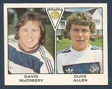 PANINI FOOTBALL 80- #480-QUEENS PARK RANGERS-DAVID McCREERY / CLIVE ALLEN