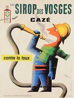 vintage print poster retro art deco French nouveau advertising painting