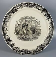 """VILLEROY AND BOCH ARTEMIS DINNER PLATE 22.8CM (9"""") STYLE C (PERFECT)"""