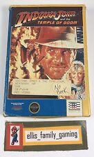 Indiana Jones And The Temple Of Doom Original Nintendo NES Game BOX Only