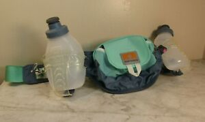 Nathan Speed 2 Running Water Belt Size Large Mint Green With 2 Bottles