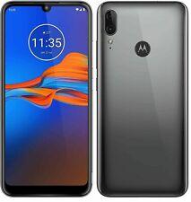 "Motorola Moto E6 Gris - 4G 32GB 6.1"" Plus Teléfono inteligente Android 9.0 Desbloqueado 13MP"