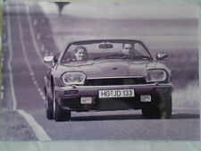 Jaguar XJS Cabriolet press photo brochure 1994 v2