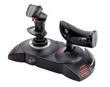 T Flight Hotas Joystick PC PS3 controladores Desmontable X amplia resto de mano NUEVO
