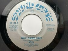 Spice Sweet Norma Jones / Can't Wait Til Morning Comes 45 rpm Record Blue Print