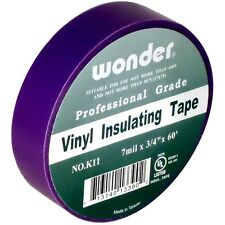 "Royal Purple Electrical Tape 3/4"" x 60' (7 mil) Vinyl Insulating"
