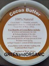 Premium 237ml 100% Pure Brut Bio Naturel Beurre de Cacao Brut Vierge 1/0.9kg