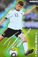 THOMAS MÜLLER - Autogrammkarte - Autograph Autogramm Fan Sammlung Clippings NEU