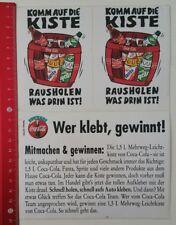 Aufkleber/Sticker: Coca-Cola - Komm auf die Kiste (060317130)