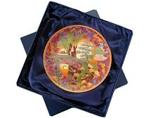"New ListingWedgwood Fairyland Magic ""Dragon King"" Collector Plate Bradex 26-W90-78.3 Boxed"