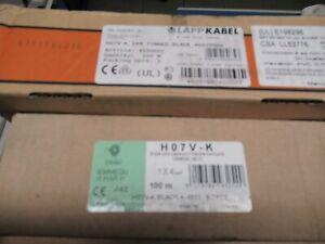 Verdrahtungsleitungen H07VK1x4qmm schwarz