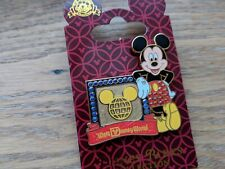 Disney Pin Mickey Mouse 3D Gem Walt Disney World Ear Icon