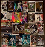 100) CARLOS BELTRAN Mixed Premium Baseball Card LOT Chrome, Finest w/Bonus cards
