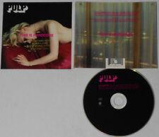 Pulp  This is Hardcore  U.S. promo cd  Gold DJ Stamp
