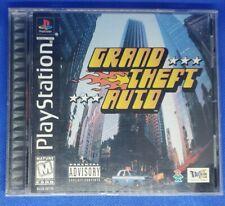Grand Theft Auto (Sony PlayStation 1, 1998)