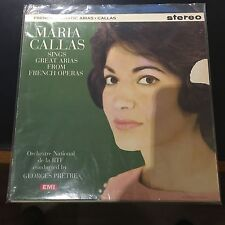 MARIA CALLAS SINGS GREAT ARIAS FROM FRENCH OPERA 180 GRAM AUDIOPHILE, G PRETRE