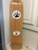 Chuck Barfoot Custom Prototype Bamboo Semi Longboard Excellent Condition 35 X 9