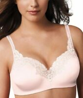 NWOT Playtex Secrets Bra Full-Figure Underwire Balconette 4823 Ivory Lace 40DD