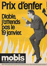 Publicité 1993  MOBIS   tv - hi fi - ménager - meubles