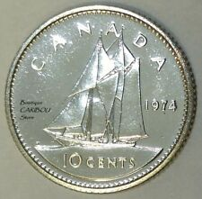 1974 Canada Proof-Like 10 Cents