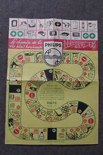vintage jeu de l'oie Publicitaire Philips Le Chemin de la vie heureuse M BRUNOT