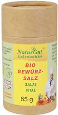 Bio Gewürzsalz Salat 65g Kräutersalz Gewürze aus kontrolliert biologischer Anbau