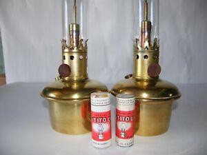 Lot de deux lampes Titus Tito Landi