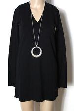 ZARA Tunika Gr. S schwarz A-Linie Schlagarm Shirt Tunika zur Leggins