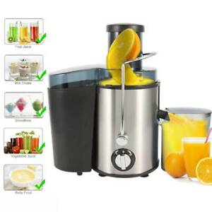 Professional Juicer Maker Machine Fruit Veg Centrifugal Juice Extractor 500ML