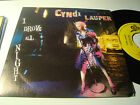 "RAR PROMO SINGLE 7"". CYNDI LAUPER. I DROVE ALL NIGHT. MADE IN SPAIN"